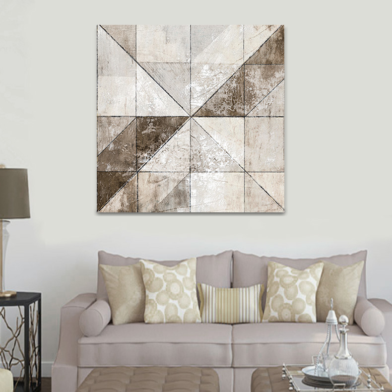 GREY COLORS CANVAS ART