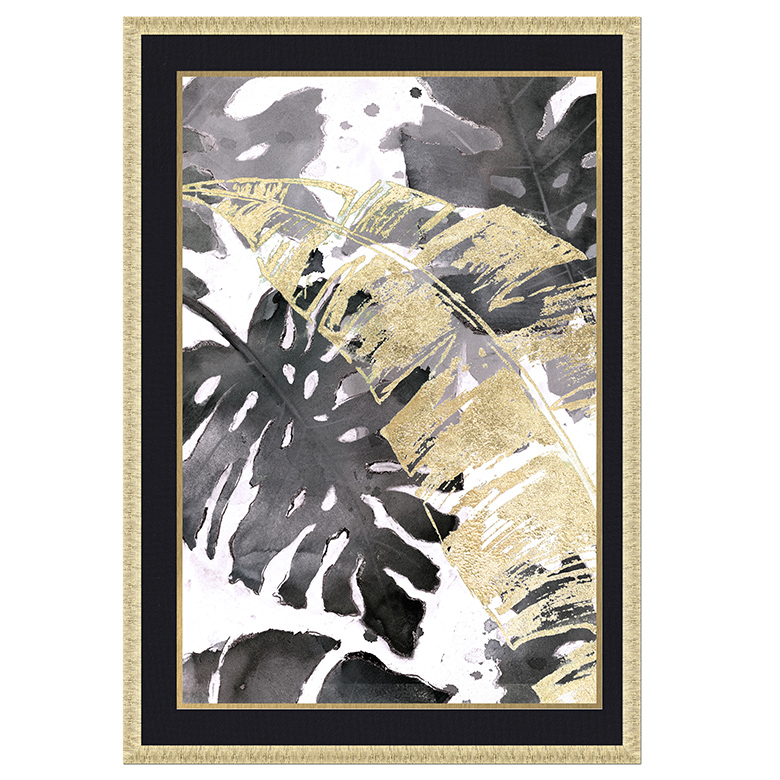TROPICAL MAT FRAMED ART