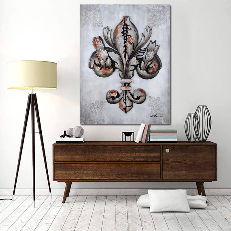 PATTERN I 3D CANVAS ART