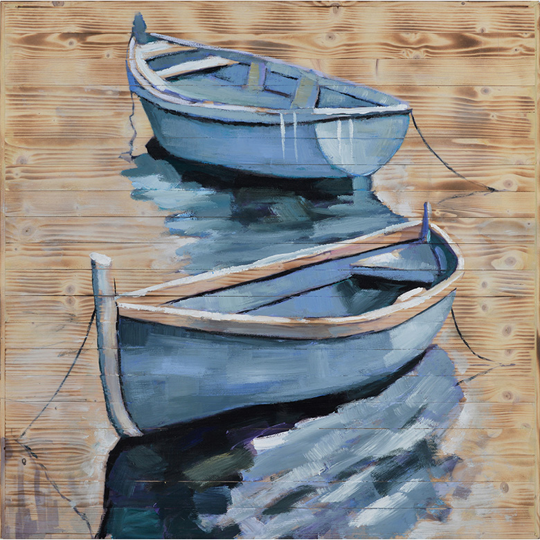 BOATS WOOD ART