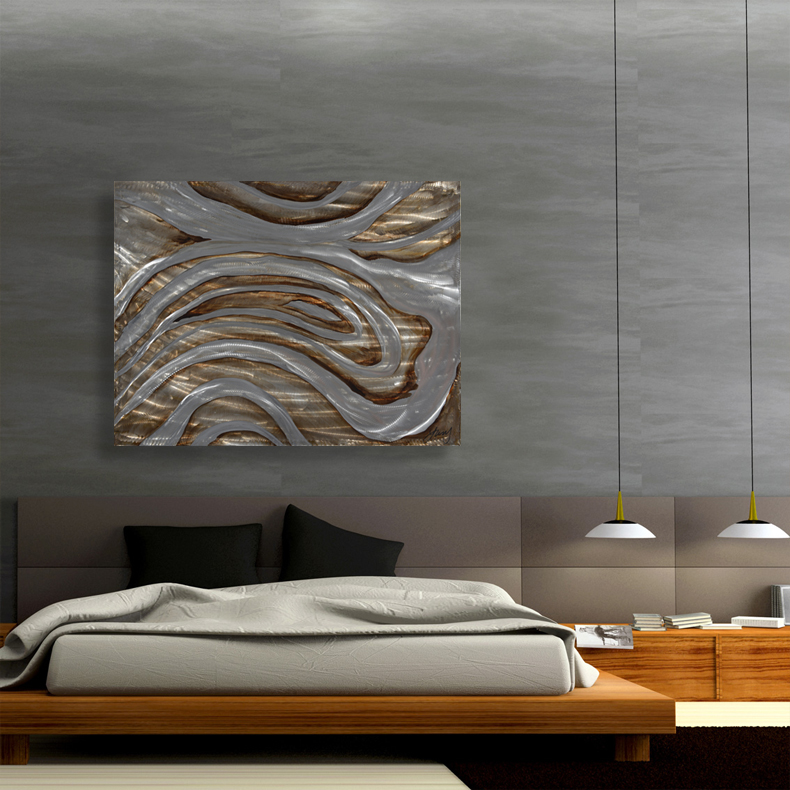 ABSTRACT ALUMINIUM ART