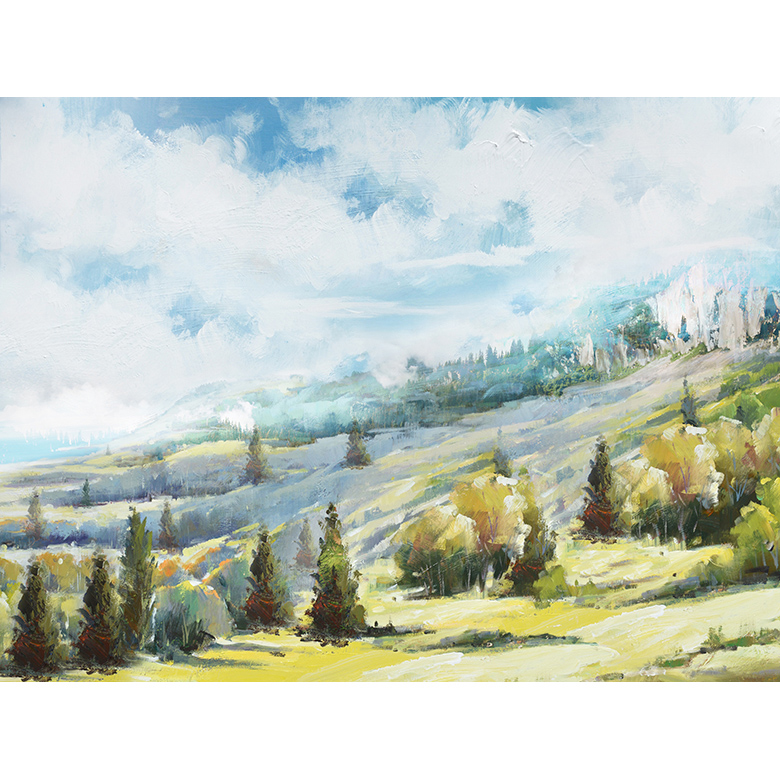 FIELD LANDSCAPE CANVAS ART