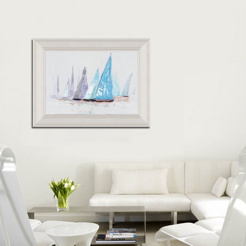 SAILING BOAT FRAMED ART